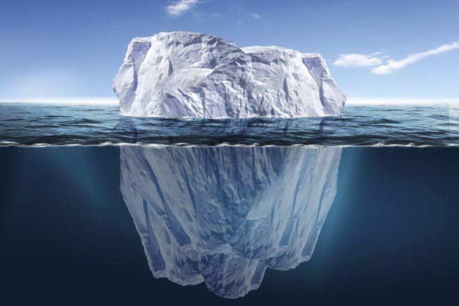 Subdivisions are like Icebergs