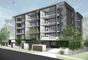 a multi unit residential project in Mount Gravatt